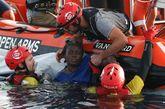 Josephine, la mujer originaria de Camerún, rescatada por la ONG...