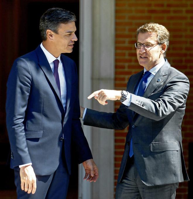 El Gobierno da por cerrado un acuerdo con la familia Franco para su exhumación