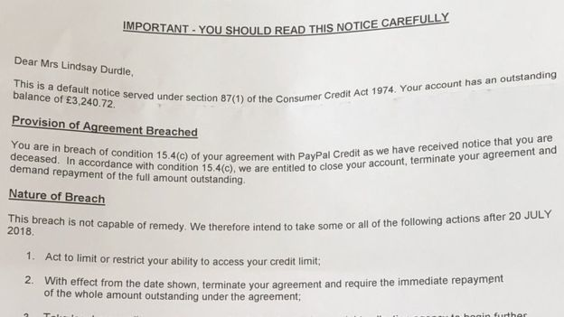 Paypal Requires 3500 Euros To A Dead User For Breaking The Rules
