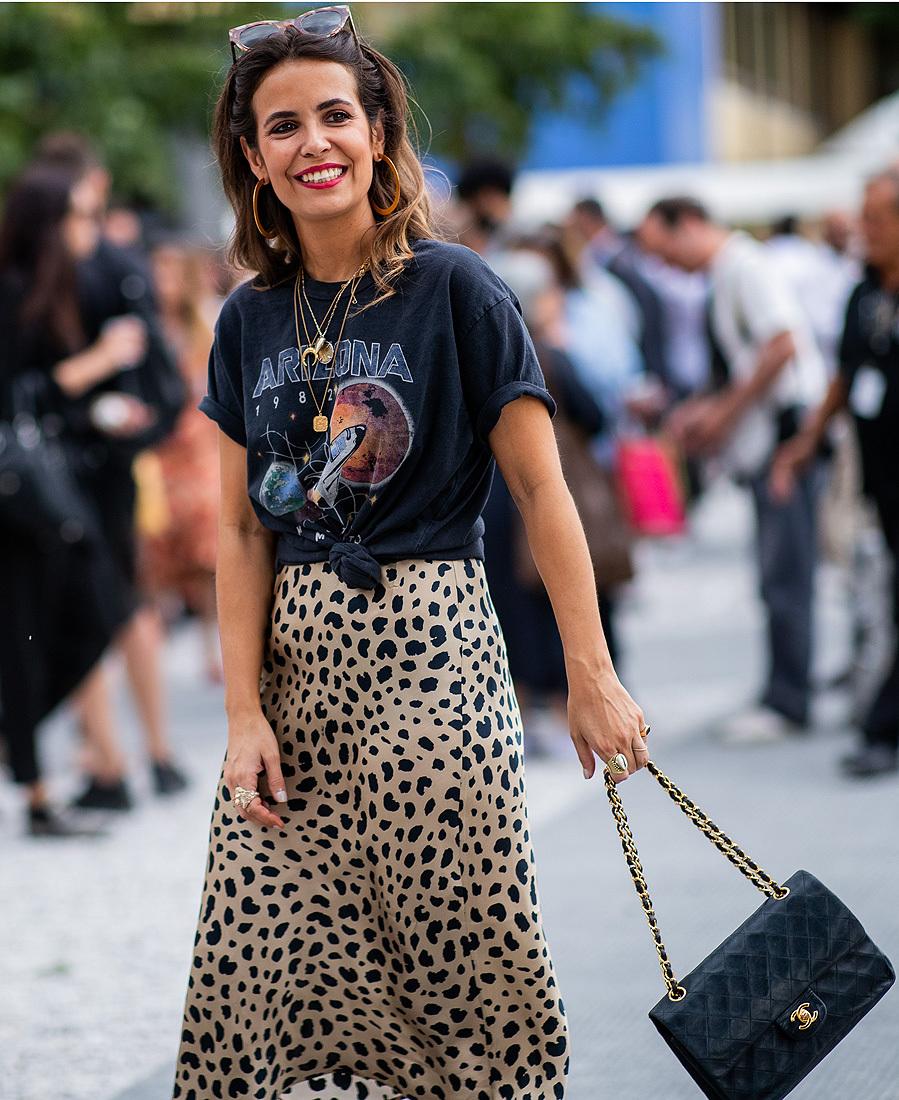 cf2aba65f Falda de leopardo de día y de noche | Moda
