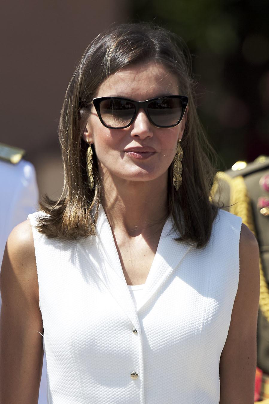 2c5e95f6cc Letizia y las gafas de sol. ¿El nuevo accesorio 'royal'? | Moda