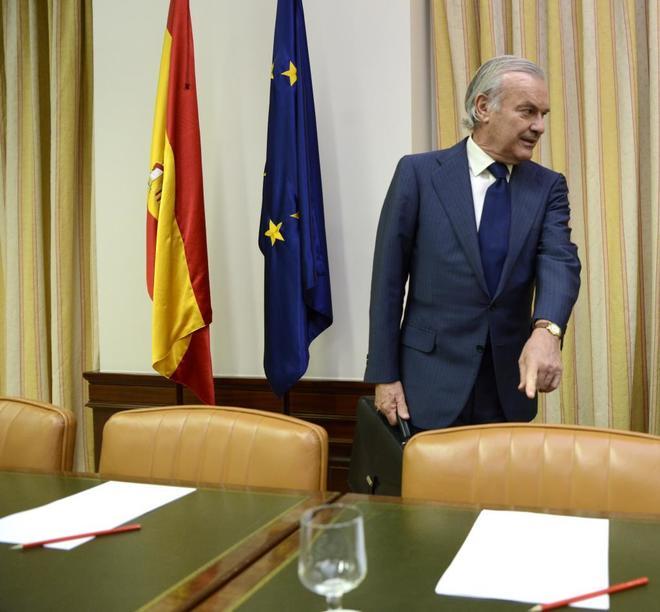 El vicepresidente del Banco Santander y actual presidente del Banco Popular, Rodrigo Echenique.