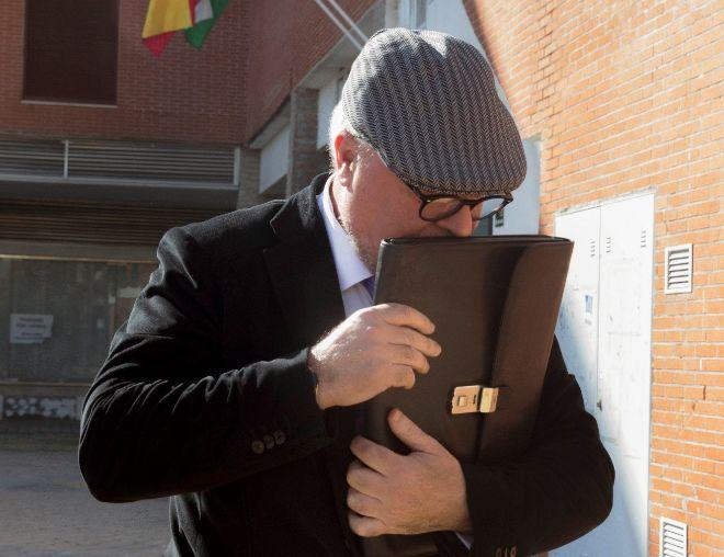 El ex comisario José Manuel Villarejo, en Madrid.