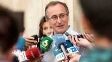 El líder del PP en Euskadi, Alfonso Alonso.