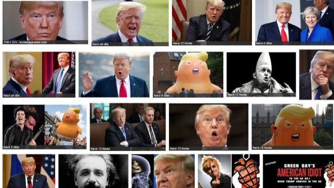 """Google cree que Donald Trump es """"idiota"""""""