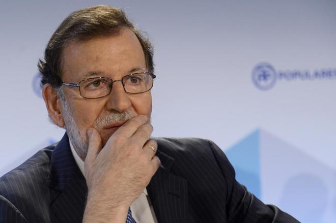 Mariano Rajoy presidiendo la reunión de la Junta Directiva Nacional...