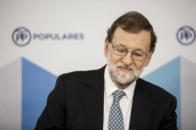 Mariano Rajoy, en el Comité Ejecutivo del PP, el pasado mes de junio.