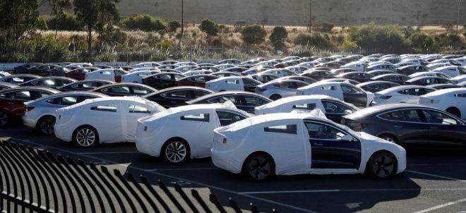 Unidades del Model 3 listas para su distribución en EEUU