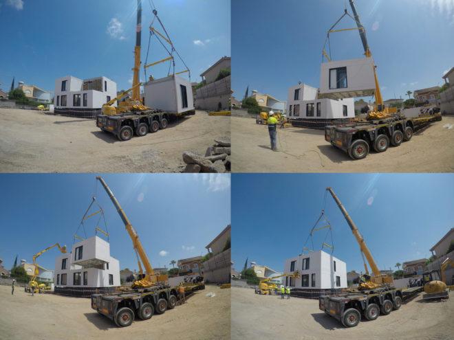 Casas construidas en fábricas: así será la edificación del futuro