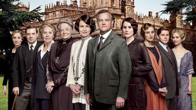 Reparto de la serie 'Downton Abbey'.
