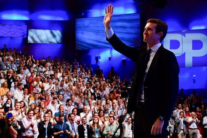 El nuevo presidente del PP, Pablo Casado, ha apelado hoy