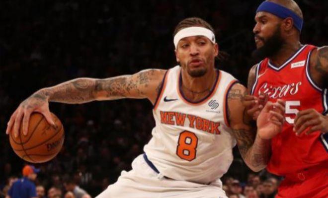 Beasley, durante su etapa en los Knicks.