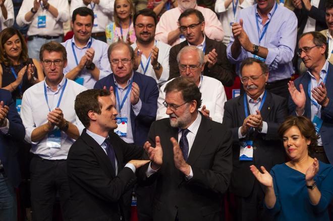 Pablo Casado, nuevo presidente del PP con cerca del 60%
