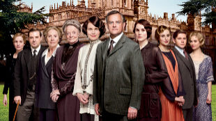 Reparto de la serie 'Downton Abbey'.