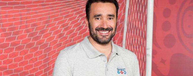 Juanma Castaño, en su última imagen promocional con Mediaset.