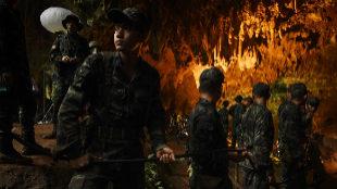 Imagen del documental 'Rescate en Tailandia'.
