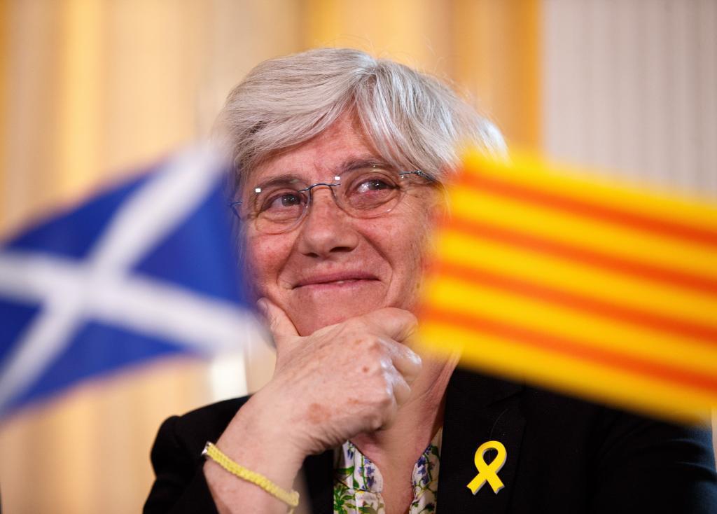 La ex consejera catalana Clara Ponsatí.