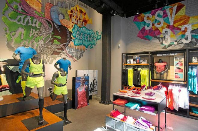 6a01664ff7 Interior de la tienda Nike de la madrileña calle Serrano. MARTÍN MÉNDEZ