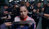 Rosalía en una de las imágenes de su nuevo videoclip, Pienso en tu...