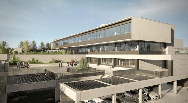 Imagen del proyecto de la Ciudad de la Tele, construida por Secuoya,...