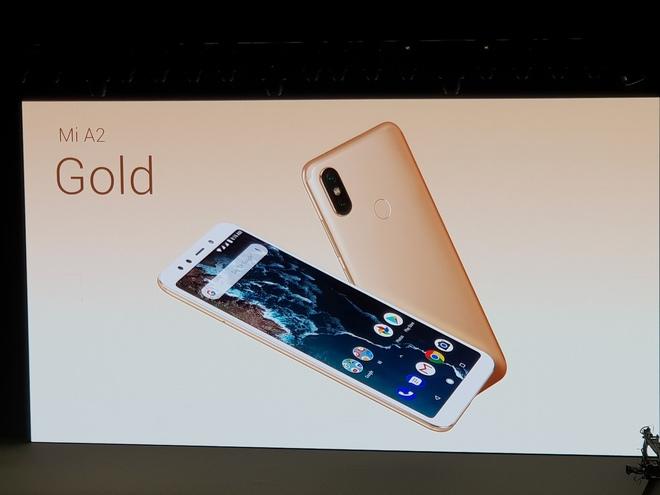 Xiaomi presenta el Mi A2 por 249 euros.