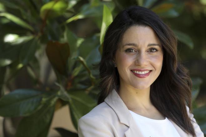 Inés Arrimadas, portavoz de Ciudadanos en el Parlament.