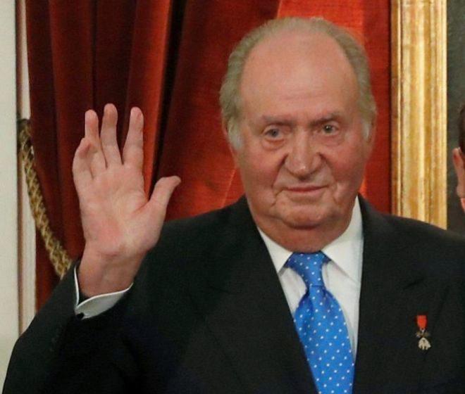 El Rey Emérito, Juan Carlos I, en un acto público realizado recientemente en Madrid.
