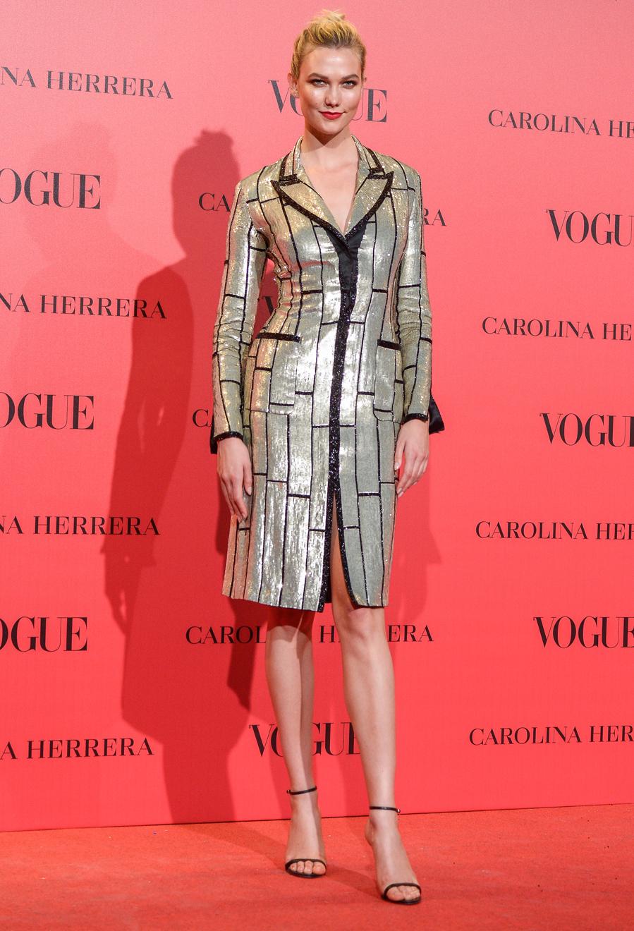 El pasado 12 de julio la modelo estuvo en Madrid para asistir a la...