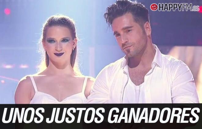 David Bustamante se convierte en el primer ganador de 'Bailando con las estrellas'