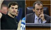 El futbolista Iker Casillas y el astronauta Pedro Duque se enfrentan...