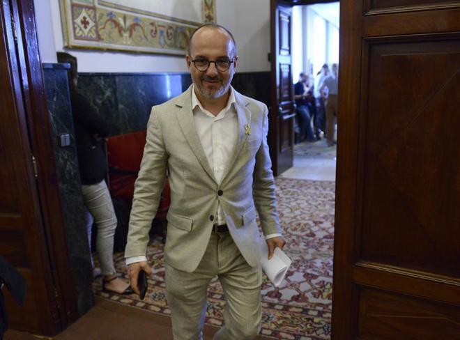 El portavoz del PDeCAT en el Congreso, Carles Campuzano.