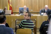 Garikoitz Aspiazu, Txeroki, durante un juicio en la Audiencia...
