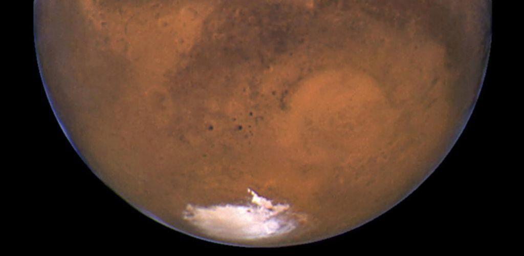 Hallado un lago de agua líquida bajo el hielo de Marte 15325281334234