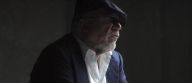 El comisario José Villarejo, durante una entrevista televisiva.