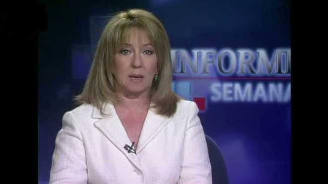 La periodista Alicia Gómez Montano.