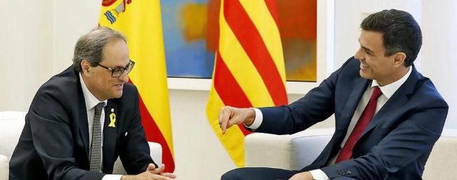 Sánchez acepta hablar de los presos y el referéndum en la Cumbre Bilateral con la Generalitat