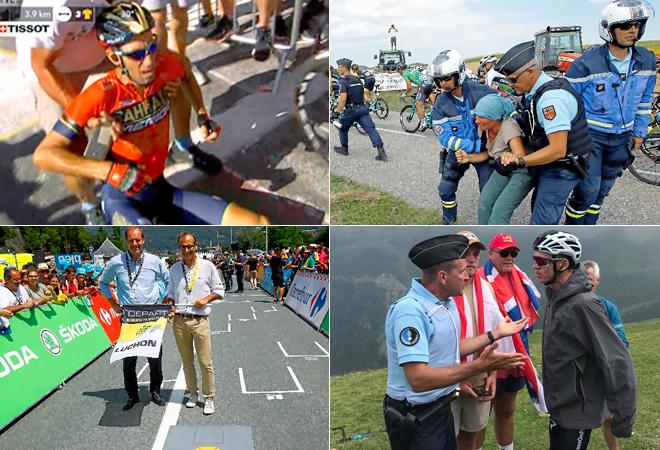 Las polémicas más sonadas del Tour de Francia.