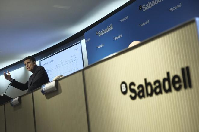 aime Guardiola, consejero delegado de Banco Sabadell.