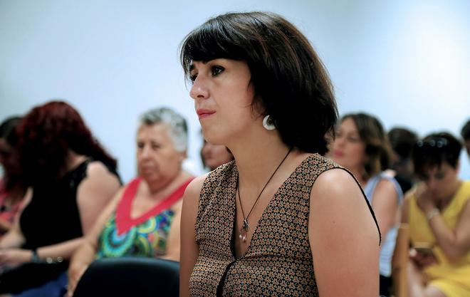 Juana Rivas duirante el juicio celebrado el pasado 18 de julio.