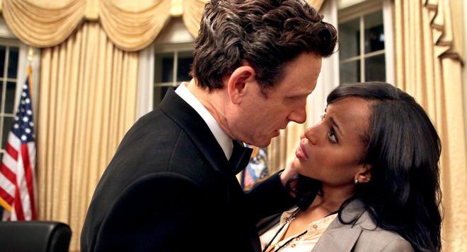 Escena de la serie 'Scandal', de Shonda Rhimes.
