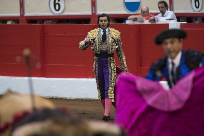 Morante de la Puebla recibió una bronca bíblica a la muerte del cuarto