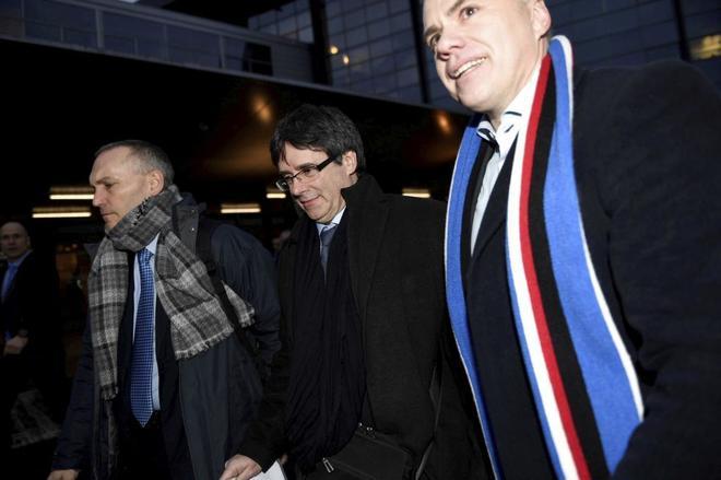 Torra y una delegación de JxCat le recibirán en Bruselas