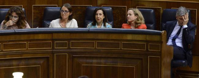 María Jesús Montero, Reyes Maroto, Margarita Robles, Nadia Calviño...