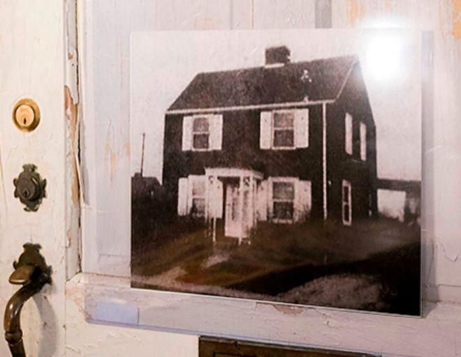 Imagen de la casa donde se refugió la activista.