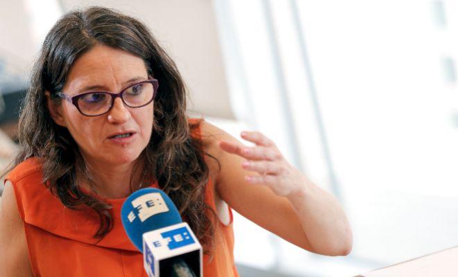 La vicepresidenta del Gobierno, Mónica Oltra.