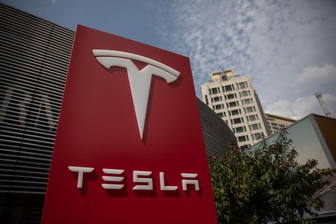 Sede de Tesla en Pekín, China.