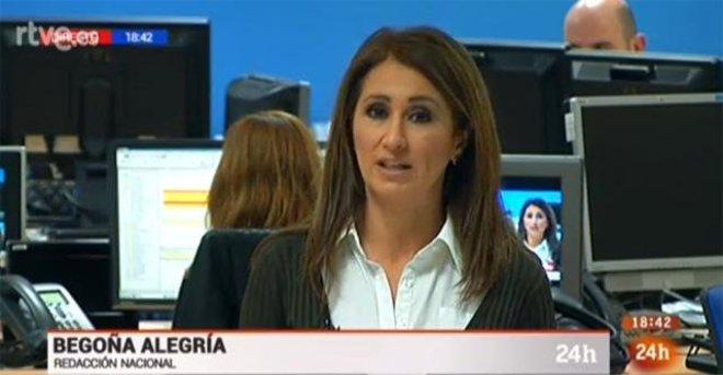 La periodista Begoña Alegría.