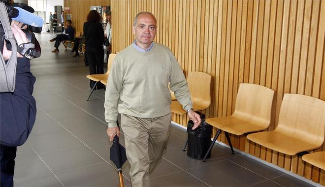 El ex jefe de Tráfico de la Policía de Zaragoza, Jesús Javier...