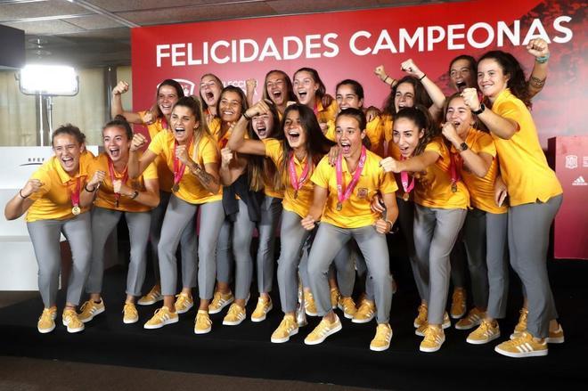 España arrasa en las categorías inferiores, actual campeona de Europa
