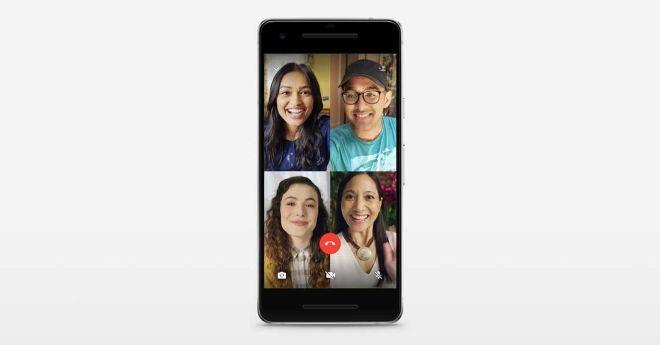 WhatsApp estrena las  videollamadas en grupo